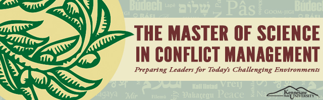 Master of Science in Conflict Management Final Projects