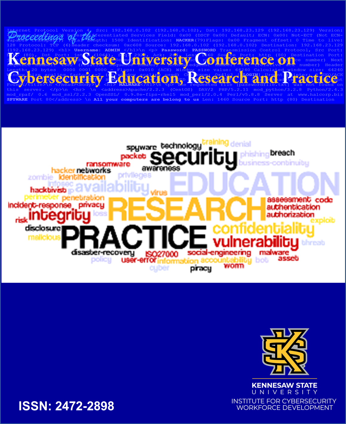 KSU Proceedings on Cybersecurity Education, Research and Practice