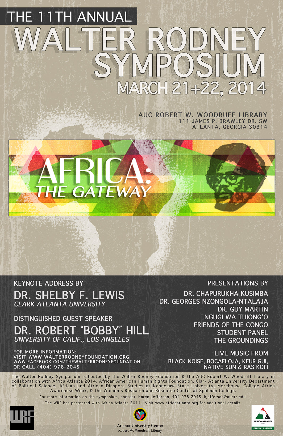 The 11th Annual Walter Rodney Symposium - 2014