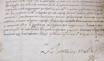 Letter Signed by Lorenzo Medici 1513