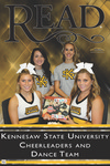 READ Poster - KSU Cheerleaders/Dance