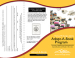 Brochure - Adopt-A-Book Program by Amy Thompson