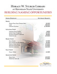 Brochure - Naming Opportunities by Amy Thompson