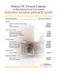 Brochure - Naming Opportunities