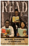 READ POSTER - Michael, Elizabeth & Stephanie, Sturgis Library Student Assistants 2014