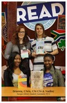 READ Poster - Brianna, Chris, Chi Chi & Nadine, Sturgis Library Student Assistants 2014 by Amy Thompson