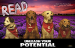 READ Poster - Happy Trails Therapy Dogs