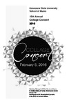 10th Annual Collage Concert