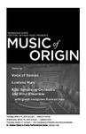 Kennesaw State Festival of New Music, Music of Origin