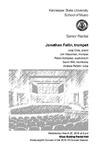 Senior Recital: Jonathan Fallin, trumpet