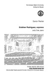 Senior Recital: Siobhan Rodriguez, soprano