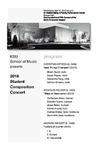 2016 Student Compostition Concert