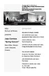 "Jazz Combos ""Spring Concert"""