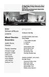 KSU Mixed Chamber Ensembles