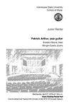 Junior Recital: Patrick Arthur, jazz guitar