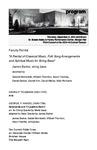 Faculty Recital: James Barket, string bass,