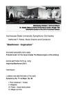 """KSU Symphony Orchestra, """"Beethoven - Inspiration"""""""