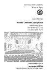 Junior Recital: Nicolas Chambers, saxophone