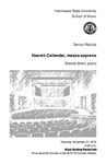Senior Recital: Naarah Callender, mezzo-soprano