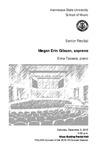 Senior Recital: Megan Erin Gibson, soprano