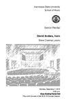 Senior Recital: David Anders, horn