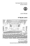 Junior Recital: Ai Nguyen, piano