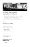 Faculty Recital: Soohyun Yun, piano