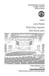 Junior Recital: Emily Crisp, soprano