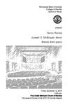 Senior Recital: Joseph S. McBrayer, tenor