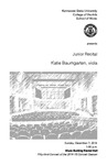 Junior Recital: Katie Baumgarten, viola