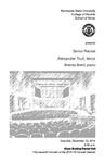 Senior Recital: Alexander Trull, tenor