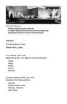 Faculty Recital: Christina Smith, flute and Robert Henry, piano