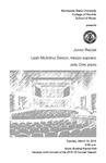 Junior Recital: Leah McArthur Sexton, mezzo-soprano