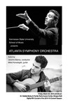 Atlanta Symphony Orchestra featuring Jacomo Bairos, conductor and Miloš Karadaglić, guitar