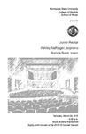 Junior Recital: Ashley Naffziger, soprano