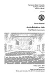 Senior Recital: Justin Brookins, viola