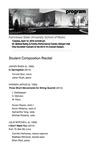 Student Composition Recital