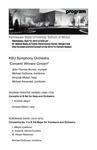 """KSU Symphony Orchestra, """"Concerto Winners Concert"""""""