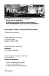 KSU Philharmonic and Concert Band