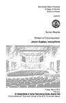 Senior Recital: Jason Kaplan, saxophone