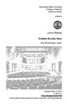Junior Recital: Kristen Arvold, horn