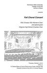 KSU Chorale, Women's Choir and special guest Hillgrove High School Chamber Choir, Fall Choral Concert