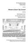 Women's Choral Day Concert featuring KSU Women's Choir