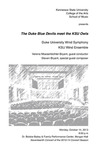 Duke University Wind Symphony and KSU Wind Ensemble,