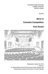 2013-14 Concerto Competition