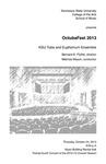 OctubaFest 2013, KSU Tuba and Euphonium Ensemble