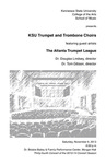 KSU Trumpet and Trombone Choirs