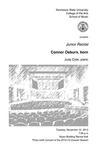 Junior Recital: Connor Osburn, horn
