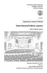 Capstone Lecture Recital: Karen Alexandria Martin, soprano