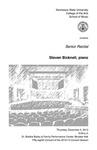 Senior Recital: Steven Bicknell, piano